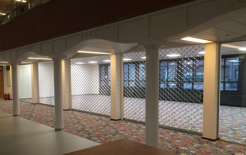 CampusStore hermetisch afgesloten in de Hoge School Arnhem Nijmegen