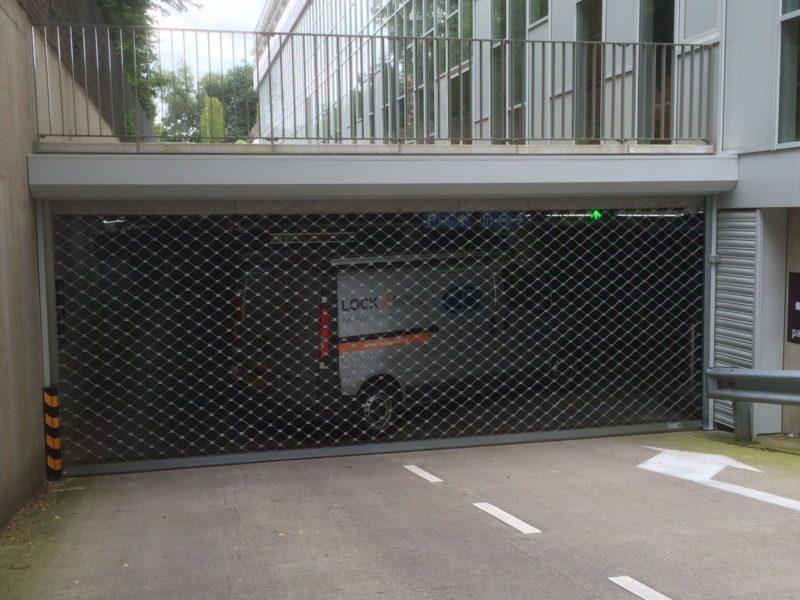 Hoge School Arnhem Nijmegen kiest voor Lock'nRoll parkeergaragerolhekken